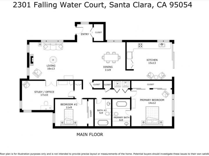 2301 Falling Water Ct, Santa Clara, CA, 95054 Townhouse. Photo 27 of 27
