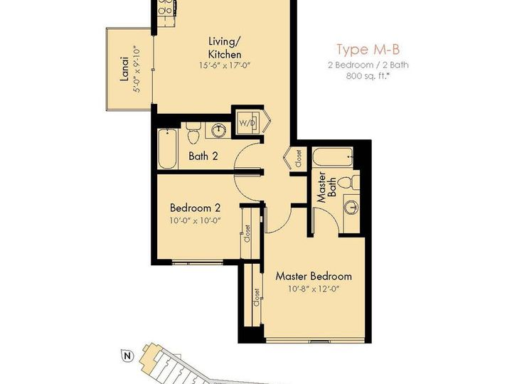 The Collection condo #M401. Photo 24 of 25