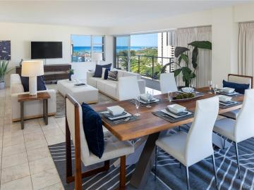 1645 Ala Wai Blvd unit #PH4, Waikiki, HI