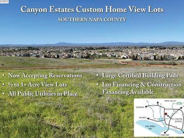 262 Canyon Estates Cir Lot 7, American Canyon, CA